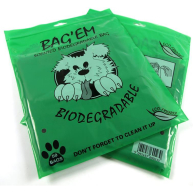 Bag Em Scented Biodegradeable Poop Bags 50 Bags