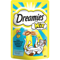Dreamies Mixes Cat Treats 60g Salmon & Cheese