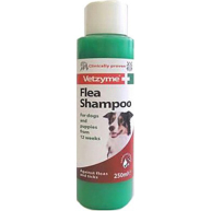 Vetzyme Flea Shampoo for Dogs 250ml