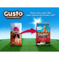 Gusto Complete Mature Lite Dog Food