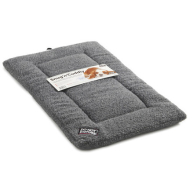 Sharples N Grant Snug n Cuddly Sherpa Style Dog Mattress Medium Grey