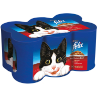 Felix Meat Selection Chunks in Jelly Cat Food