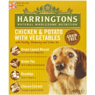 Harringtons Chicken & Potato Wet Dog Food 400g x 8