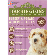 Harringtons Turkey & Potato Wet Dog Food 150g x 7