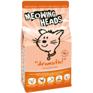 Meowing Heads Drumstix Adult Cat Food