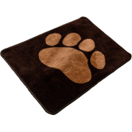 Pet Rebellion Boot Mate Car Mat  Brown Paw