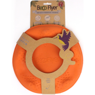 Beco Flyer Frisbee Dog Toy Orange