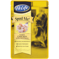 HiLife Spoil Me! Flaked Chicken with Vegetables Adult Dog Food 100g x 15