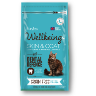 Burgess Wellbeing Skin and Coat Cat Food
