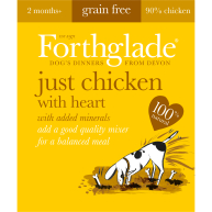 Forthglade Just Chicken with Heart Dog Food