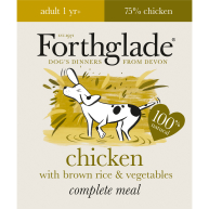 Forthglade Complete Chicken & Rice Adult Dog Food