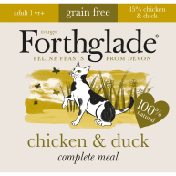 Forthglade Complete Chicken & Duck for Cats 90g x 12