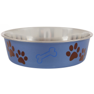 Loving Pets Bella Paw Design Dog Bowl