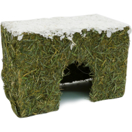 Rosewood Naturals Wintery Hay Christmas Cottage Medium