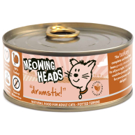 Meowing Heads Drumstix Wet Cat Food 100g x 6 Tin