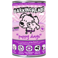 Barking Heads Foods Puppy Days Wet Puppy Food 400g x 6 Tin