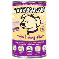 Barking Heads Fat Dog Slim Adult Dog food 400g x 6