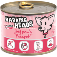 Barking Heads Tiny Paws Fusspot Wet Adult Dog Food 200g x 6 Tin