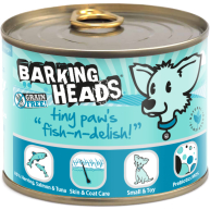 Barking Heads Tiny Paws Fish n Delish Wet Adult Dog Food  200g x 6