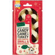 Good Boy Pawsley Braided Candy Cane Christmas Dog Treat