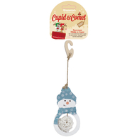 Rosewood Cupid & Comet Nibble n Gnaw Snowman Small Pet Christmas Gnaw