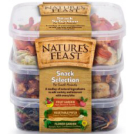 Natures Feast Small Animal Snack Selection  175g