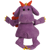 Hugglehounds Knottie Puff The Dragon Dog Toy