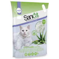 Sanicat Aloe Vera Diamonds Cat Litter