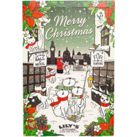 Lilys Kitchen Christmas Advent Calendar for Cats 42g