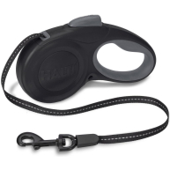Halti Retractable Dog Lead Black