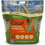 Burgess Excel Long Stem Rabbit Feeding Hay 1kg