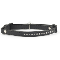 Ancol Jewelled Safety Cat Collar Black Black