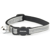 Ancol Gloss Reflective Cat Collar Silver