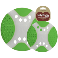 Rosewood Throw n Go Dental Saucer Dog Toy Green