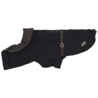 Buster City Dog Coat Black