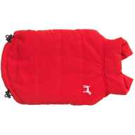 House Of Paws Fleece Lined Gilet Red Dog Coat
