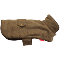 House of Paws Brown Tweed Dog Coat