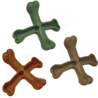 Whimzees Cross Bone Dog Chew Treat 1 Chew