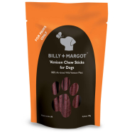 Billy & Margot Venison Chew Stick Dog Treats 100g