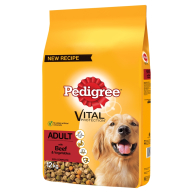 Pedigree Vital Protection Beef Adult Dog Food 12kg