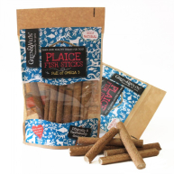 Green & Wilds Plaice Fish Sticks Dog Treats