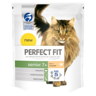 Perfect Fit Chicken Senior 7+ Cat Food 750g