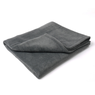 Charley Chau Double Fleece Charcoal Dog Blanket
