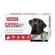Beaphar FIPROtec Combo Spot On For Dogs