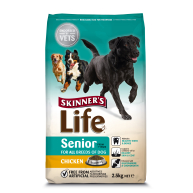 Skinners Life All Breeds Chicken Senior Dog Food