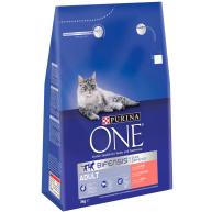 Purina One Bifensis Salmon & Whole Grains Adult Cat Food 3kg