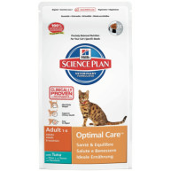 Hills Science Plan Feline Adult Optimal Care Tuna 2kg