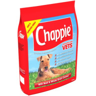 Chappie Dry Beef & Wholegrain Cereal Adult Dog Food 15kg