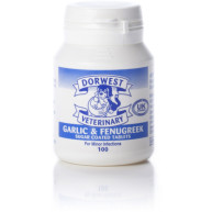 Dorwest Veterinary Garlic & Fenugreek Tablets 100g