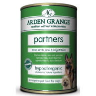Arden Grange Partners Lamb & Rice Dog Food  395g x 6